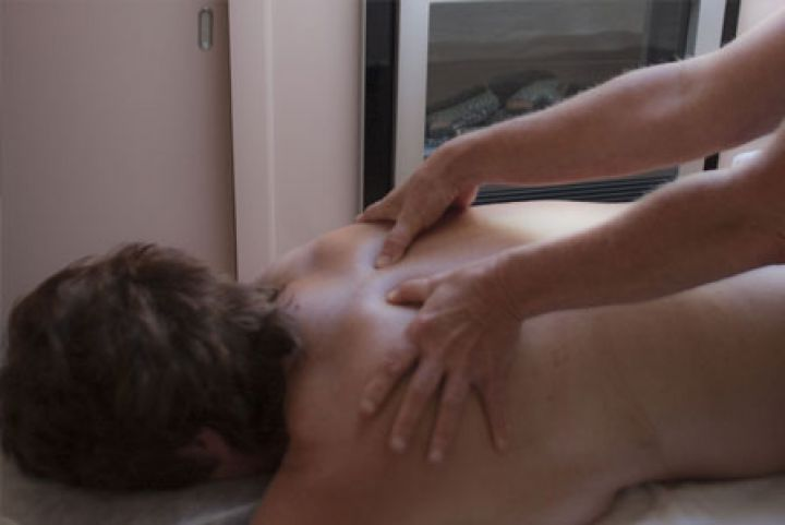 Nek- en schoudermassage